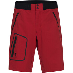 Peak Performance M's Light Softshell Shorts Chilli Pepper